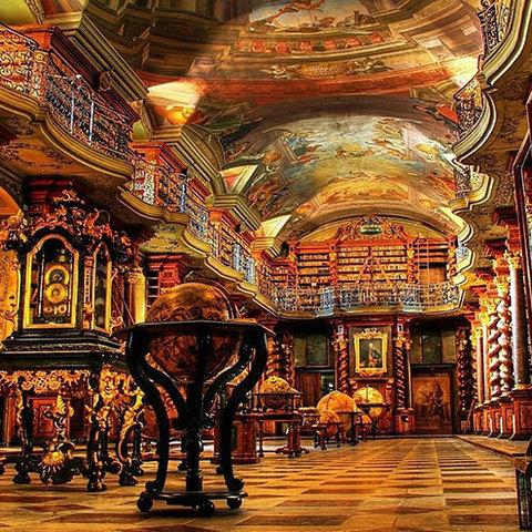 死前一定要去親眼探探!美到不可思議之令人窒息的超美圖書館