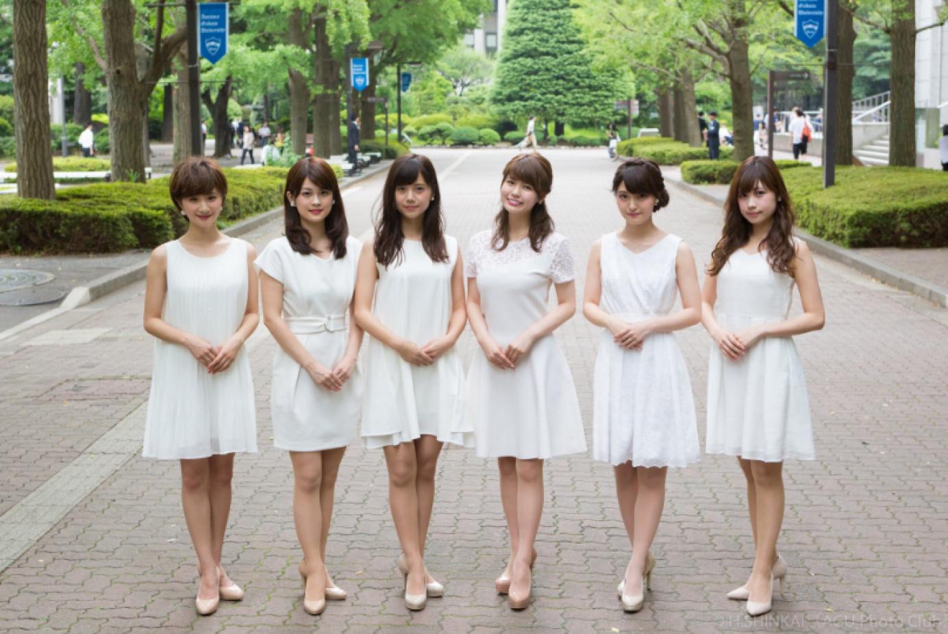 全東京顏值最高的美女都在「這間」大學    這場校園美女選拔簡直要逼死評審!