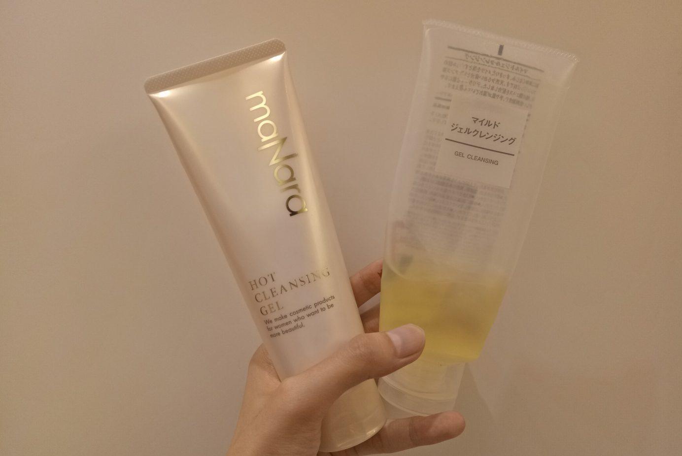 【實證+打臉全紀錄】網紅卸妝品maNara與美保版無印良品卸妝露卸妝力測給你看!