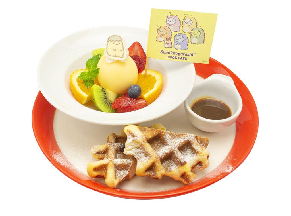 「恐龍雞蛋布丁」—<澀谷MODI主題咖啡廳>