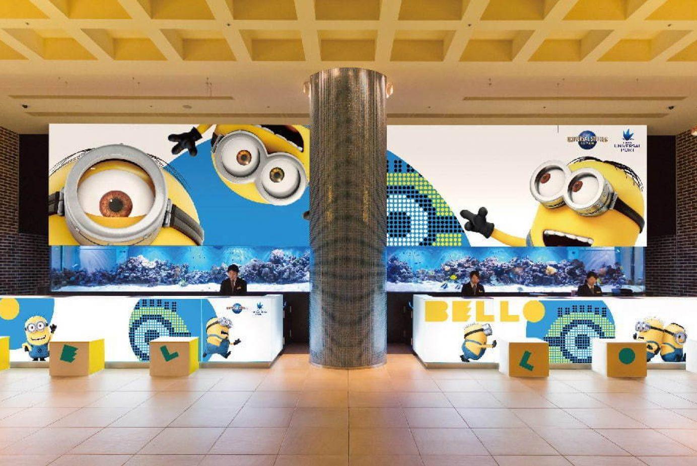 【日本環球影城官方酒店】Minions is coming!小小兵與你同住大阪環球港飯店,陪你一起童心未泯