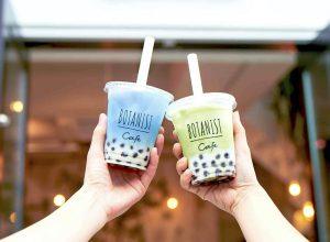 【東京文青口袋名單】表參道原宿BOTANIST,夏季限定兩款珍珠茶飲,讓你一拍再拍停不下來