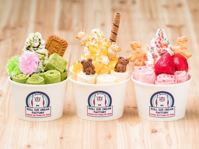 日本元祖捲捲冰「ROLL ICE CREAM FACTORY』海外第一家分店誕生啦!就在台北微風南山atre!