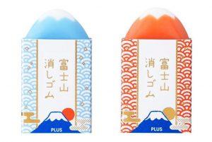 【2019最可愛橡皮擦】想親眼看富士山不再只是夢,PLUS文具讓你擦出一座山!