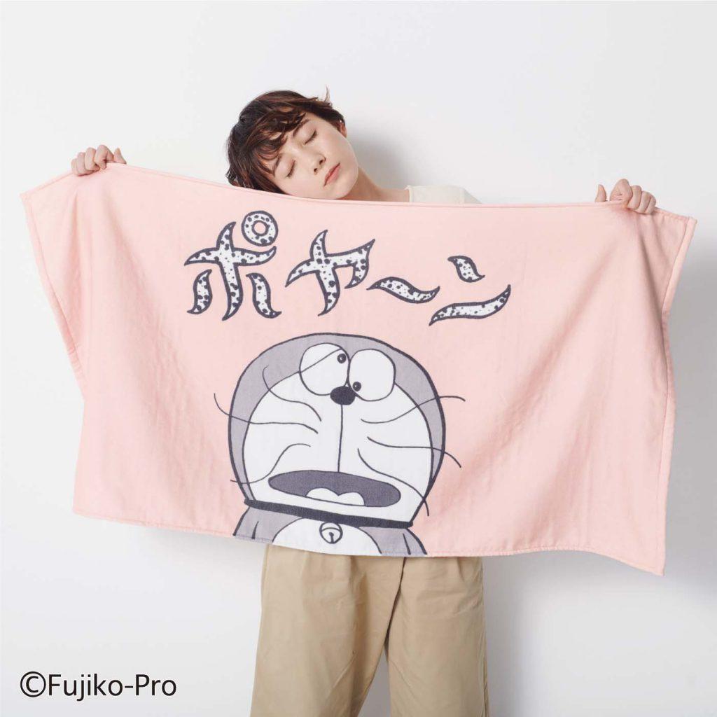 哆啦A夢 x Felissimo 浴巾