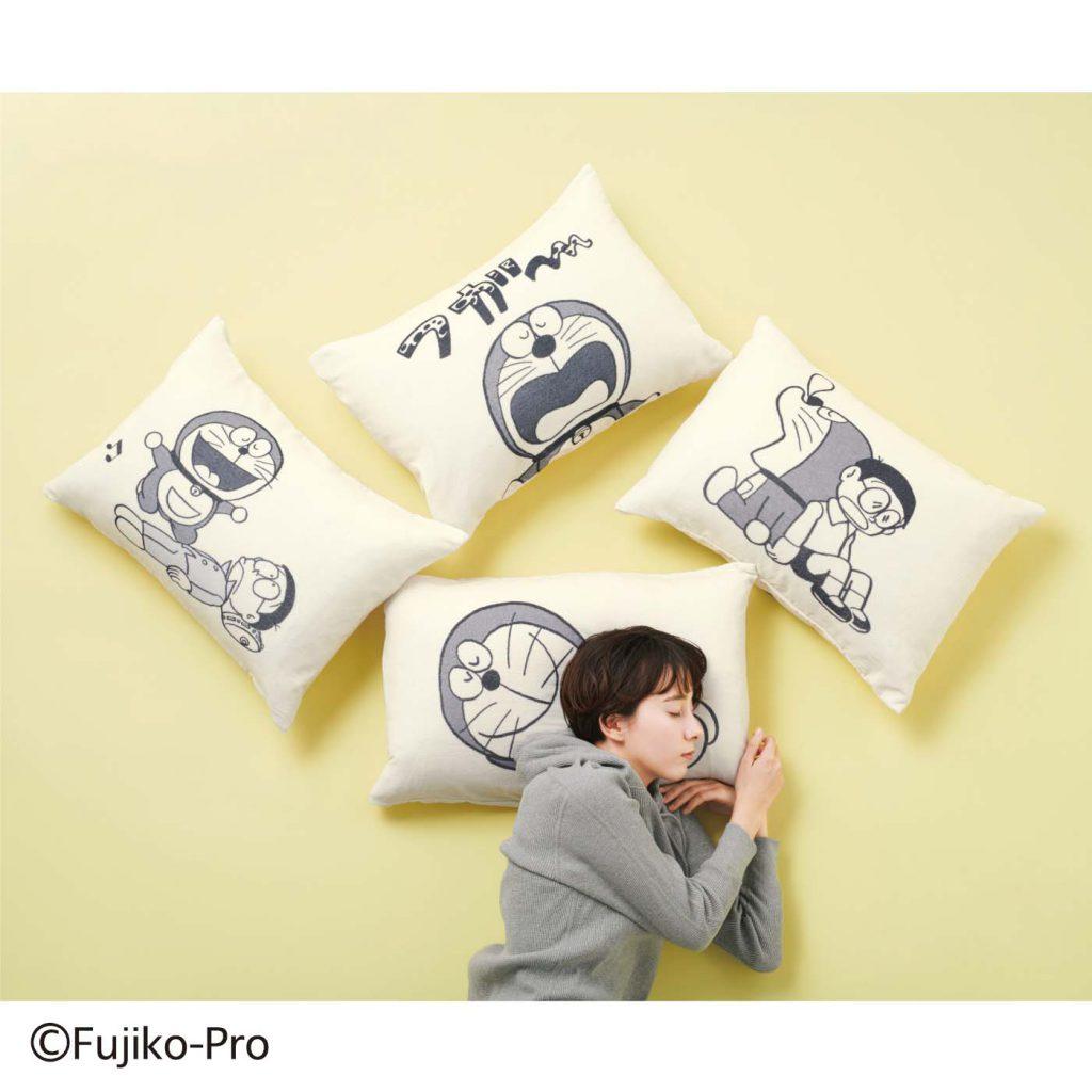 哆啦A夢 x Felissimo 枕套